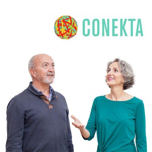 Diseño web para Conekta, formación en liderazgo