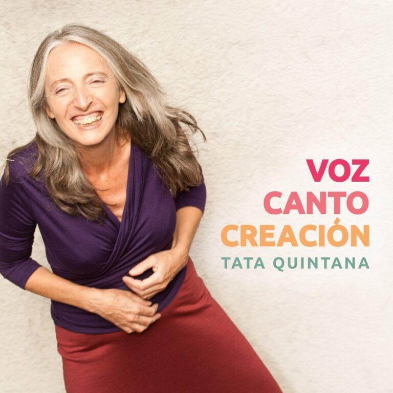 Diseño web para Tata Quintana, profesora de voz
