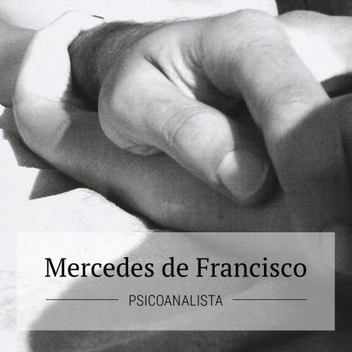 Diseño web para Mercedes de Francisco, psicoanalista